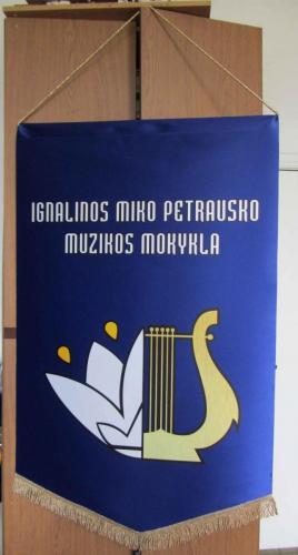 Ignalinos muzikos mokyklos veliava